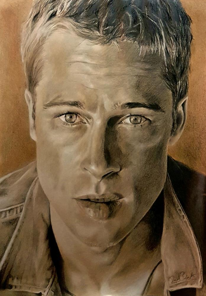 Brad Pitt by eyes94